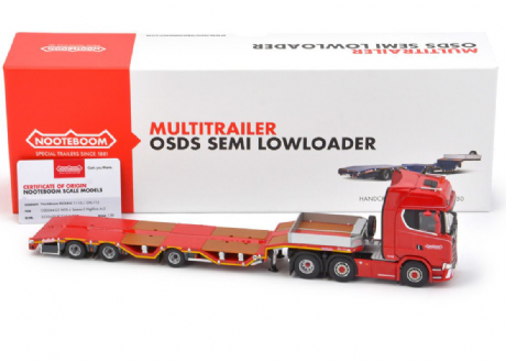 IMC Nooteboom Redline Series OSDS44-03 Semi Lowloader With Scania S Highline 6X2